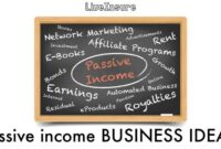PASSIVE INCOME BUSINESS IDEAS TO HELP DEAL WITH DEBT